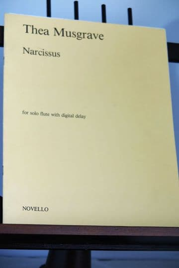 Musgrave T - Narcissus for Solo Flute with Digital Delay